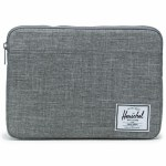 Herschel  Anchor Sleeve for 13 inch MacBook Laptop Bags & Sleeves-Raven Crosshatch-13