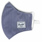 Herschel Classic Face Mask-Peacoat Enginereed Stripe-OS