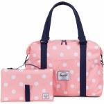 Herschel Strand Sprout Duffel Bag Kids-Peach Polka Dot/Peacoat-OS