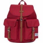 Herschel Dawson X-Small Backpack-Brick Red/Tan-13L