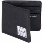 Herschel Hank Bi-Fold Wallet w/RFID Blocking Layer-Black/Black-OS