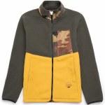 Herschel Sherpa Zip Jacket-Dark Olive/Arrowwood-M