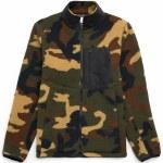Herschel Sherpa Zip Jacket-Woodland Camo-M