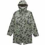 Herschel Rainwear Fishtail Parka-Frog Camo-XL