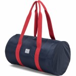 Herschel Packable Duffle-Navy/Red-22