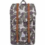 Herschel Little America Backpack-Frog Camo/Tan-25