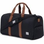 Herschel Novel Mid-Volume Duffle Bag-Black/Tan-34.5