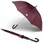Herschel Voyage Single Stage Umbrella-Plum/Mineral Red-OS