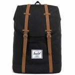 Herschel Retreat Backpack-Black-19.5L