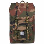 Herschel Little America Backpack-Woodland Camo-23L