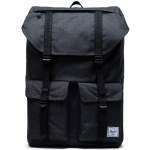 Herschel Buckingham Backpack-Black Crosshatch-33L
