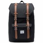 Herschel Lil America Mid Volume Backpack-Black-17L