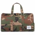 Herschel Novel Duffle Bag-Woodland Camo/Multi Zip-42.5L