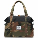 Herschel Strand Messenger Bag-Woodland Camo/Black-28.5L
