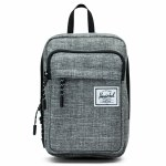 Herschel Form Large Hip Pack-Raven Crosshatch-2L