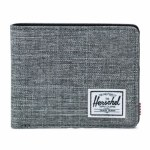 Herschel Hank Wallet-Raven Crosshatch-OS