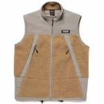 HUF Mens Ansel Tech Vest-Frost Grey-S