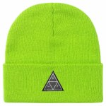 HUF Mens Essentials TT Beanie-Bio Lime-OS