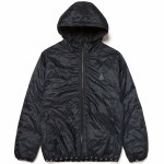 HUF Mens Polygon Quilted Jacket-Black-S