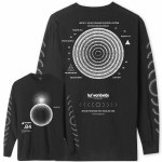 HUF Mens Ground Control Long Sleeve T-Shirt-Black-S