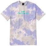 HUF Mens Chemistry Short Sleeve T-Shirt-Violet-S