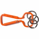Huf Bottle Opener Carabiner-Saftey Orange-OS