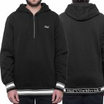 Huf Relay French Terry Pullover Hoody-Black-M