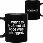 HUF Mugged Mug-Black-OS