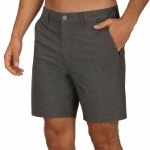 Hurley Mens Phantom Walkshort 18 Short-Black Heather-28