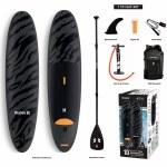 Hurley Advantage Stand Up Paddle Board-Black Tiger-10