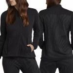 Hurley Palmer Bomber Zip Fleece Womens-Black-XS