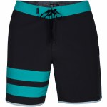 """Hurley Phantom Block Party Solid 18"""" Boardshorts-Anthracite-34"""