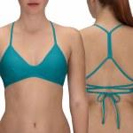 Hurley Quick Dry Surf Top Bikini-Cabana-S