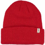 HOWL Mens Slash Beanie-Red-OS