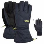 HOWL Mens Belmont Gloves-Blue-M