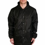 Imperial Motion Nano Cure Technology Vulcan Coaches Jacket-Black-M