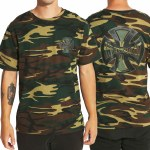 Independent Concealed Short Sleeve T Shirt-Camo-L