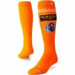 Stance Mens Launch Pad Sock-Orange-M
