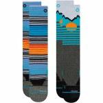 Stance Mens Mountain 2pack Sock-Multi-M