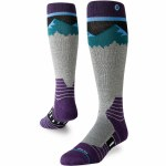 Stance Mens Ridge Line Sock-Blue-M
