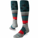 Stance Mens Star Fade Sock-Green-M