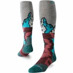 Stance Mens Mount Analog Sock-Black-M