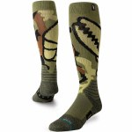 Stance Mens Camo Sock-Grab Green-M