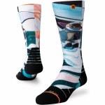 Stance Womens Astro Dog Sock-White-S