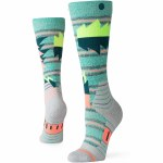 Stance Womens Oscillate Sock-Teal-S
