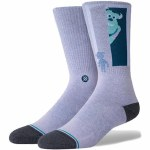 Stance Mens Sully And Boo Sock-Purple-M