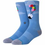 Stance Mens Up Sock-Blue-M