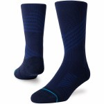 Stance Mens Altheltic Crew Sock-Navy-M