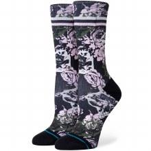Stance Womens La Vie En Rose Crew Sock-Black-S