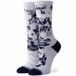 Stance Womens Harbor Crew Sock-Grey-S